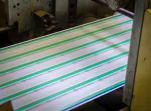 Multi-color work for an international customer